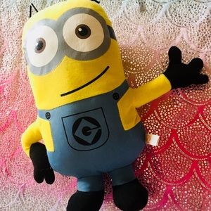 Flat Despicable Me Plush Minion